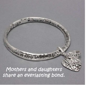 Mothers and Daughters Share an Everlasting Bond Charm Bracelet