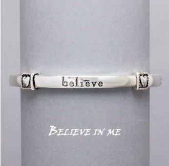 Religious Believe in Me Bracelet