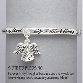 Religious Sisters Blessing Guardian Angel Charm Bracelet