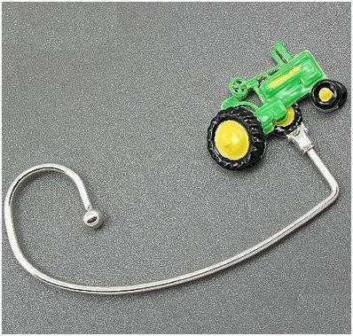 Green Tractor Handbag Purse Hook Caddy Holder