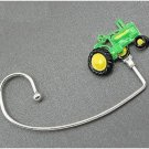 Green Tractor Handbag Purse Hook Caddy Holder