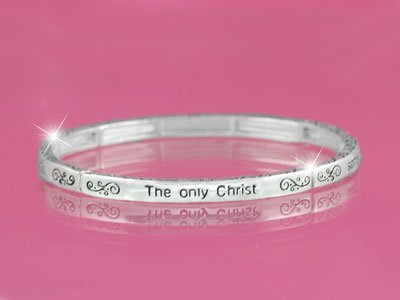 Christ They See In You Religious Stackable Bracelet