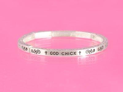 God Chick Religious Stackable Bracelet