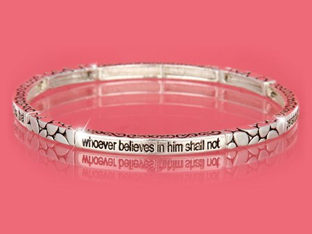 John 3:16 Religious Stackable Bracelet