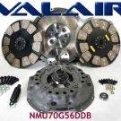 Valair dual disk clutch w/ ceramic buttons NMU70G56DDB