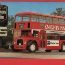 DOUBLE DECKER BUS KNIGHTS INN REYNOLDSBURG OH Ohio POSTCARD