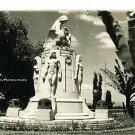 RPPC CHAPULTEPEC MEXICO STATUE MONUMENT RP POSTCARD