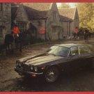 JAGUAR XJ  1977 BRITISH LEYLAND CAR  POSTCARD
