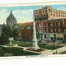 BUTLER PENNSYLVANIA PA NIXON HOTEL 1929 POSTCARD