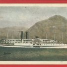ST JOHN STEAMBOAT SHIP BOAT MARINERS MUSEUM CARD