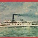 FRANK E KIRBY WHIPPLE DOSSIN MUSEUM MI SHIP  POSTCARD