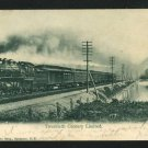 TWENTIETH CENTURY LIMITED TRAIN 1906 RAILROAD  POSTCARD