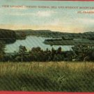 S FRAMINGHAM MASSACHUSETTS NOBSCOT MTN 1910  POSTCARD