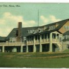 AKRON OHIO OH PORTAGE COUNTRY CLUB 1910 POSTCARD