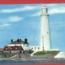 ST MARY'S LIGHTHOUSE WHITLEY BAY UK ENGLAND  POSTCARD