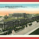 WASHINGTON DC NEW GOVERNMENT BUILDINGS 1935  POSTCARD