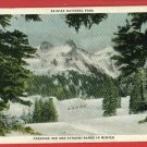 RAINIER NATL PARK WA PARADISE INN TATOOSH RNGE POSTCARD