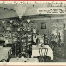 SAN ANTONIO TEXAS LA LOUISIANE INTERIOR 1954 POSTCARD