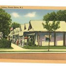 OCEAN GROVE NEW JERSEY NJ TENT COLONY 1953  POSTCARD
