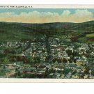 ELLENVILLE NEW YORK  NY BIRD'S EYE VIEW POSTCARD