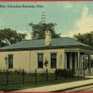 COLUMBUS BARRACKS OHIO POST OFFICE HAENLEIN POSTCARD