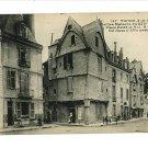 TOURS FRANCE VIEILLES MAISONS DU XIV VINTAGE POSTCARD