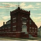 BUCYRUS OHIO OH NEW ARMORY 1913 POSTCARD
