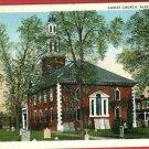 ALEXANDRIA VA VIRGINIA CHRIST CHURCH 1935 POSTCARD