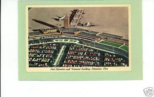 PORT COLUMBUS AIRPORT OHIO 1964 AIRPLANE AIRPLANES