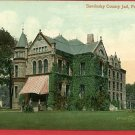 FREMONT OHIO SANDUSKY COUNTY JAIL  POSTCARD