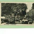 RPPC RIO DE JANEIRO BRAZIL BUSES CARS PEOPLE 1936 RPPC