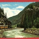 SILVERTON TRAIN Railroad DURGANO CO COLORADO  POSTCARD