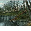 EMPORIA KANSAS KS NEOSHO RIVER 1909 VINTAGE POSTCARD