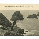 CAMARET sur MER FRANCE POINTE DE PENHIR PEOPLE POSTCARD