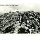 RPPC PIKE'S PEAK COLORADO SUMMIT PANORAMA SANBORN 1949