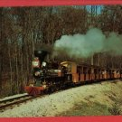 MILWAUKEE WI COUNTY ZOO MODEL RAILROAD TRAIN POSTCARD