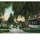 PASADENA CALIFORNIA ST. FRANCIS COURT 1921 POSTCARD