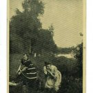 WOMEN SWIMSUITS  IS COAST CLEAR COMIC 1908  POSTCARD