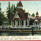 SEATTLE WASHINGTON MADISON PARK 1908 POSTCARD