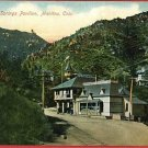 MANITOU COLORADO UTE IRON SPRINGS PAV'LN 1908  POSTCARD