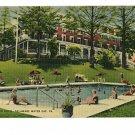 DELAWARE WATER GAP PENNSYLVANIA GLENWOOD HOTEL POOL '47
