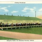 FT BENJAMIN HARRISON INDIANA CLOTHES WAREHOUSE POSTCARD