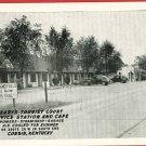 CORBIN KENTUCKY YEARY'S TOURIST CT GAS STATION POSTCARD