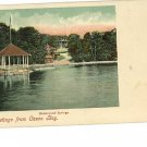 CASCO BAY ME MAINE UNDERWOOD SPRINGS  POSTCARD