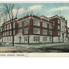 MUNCIE INDIANA IN  - HIGH SCHOOL 1918  POSTCARD