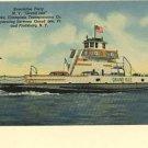 GRAND ISLE FERRY PLATTSBURG NEW YORK VERMONT CHAMPLAIN