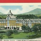 ROANOKE VIRGINIA VA HOTEL ROANOKE 1948 POSTCARD