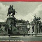BERLIN GERMANY KAISER WILHELM I MONUMENT  POSTCARD