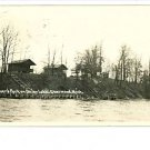RPPC SHERWOOD MICHIGAN MI  WEAVER'S PARK UNION LAKE RP