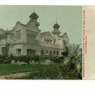 HOLLYWOOD CALIFORNIA DE LONGPRE RESIDENCE POSTCARD